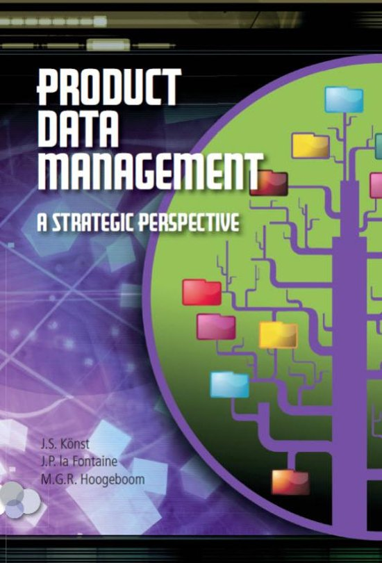 Product data management in a strategic perspective
