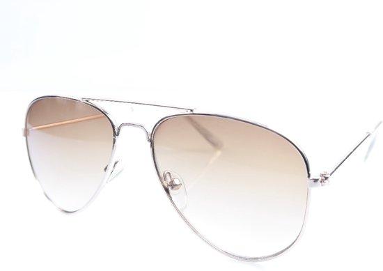 bbf62cfc4d523d Kinder zonnebril Pilotenbril Goud   Bruin