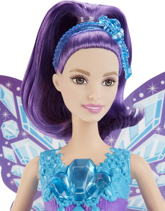 Barbie Dreamtopia Fee Edelsteen - Barbiepop