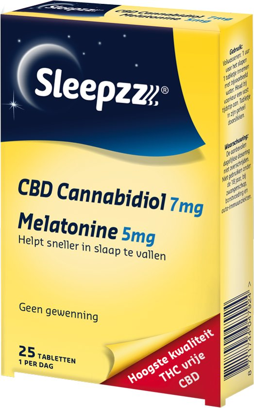 Sleepzz CBD (7 mg) - Voedingssupplement