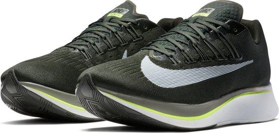 Nike Zoom Fly Hardloopschoenen Heren - Sequoia/White-Med Olive-Dk Stu - Maat 38.5
