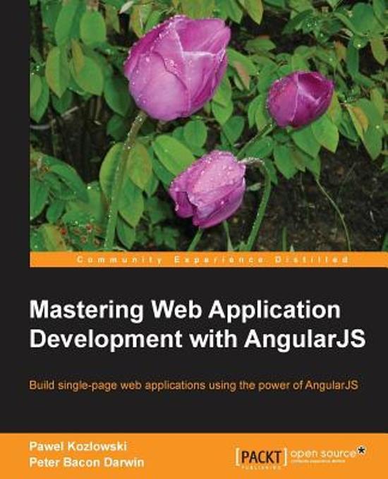 Mastering Web Application Development with AngularJS