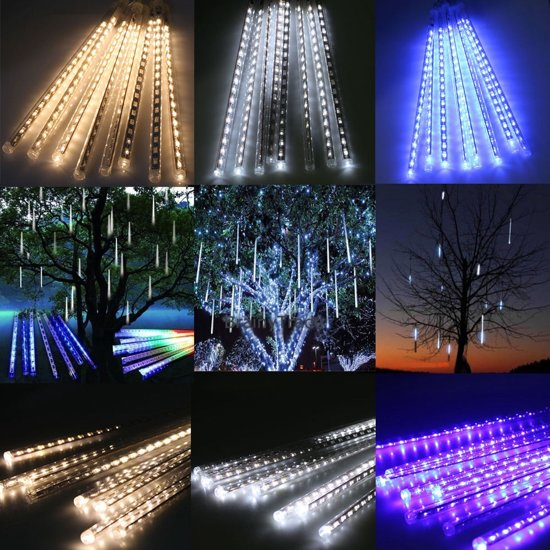 led verlichting 8 bewegende ijspegels druppels icycle