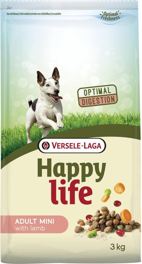 Happy Life Adult Mini Lamb - Hondenvoer - 3 kg