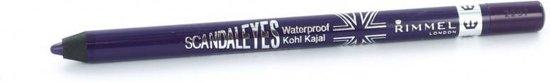 Rimmel London Scandal'Eyes Waterproof Kohl Pencil - 013 Purple   - Oogpotlood