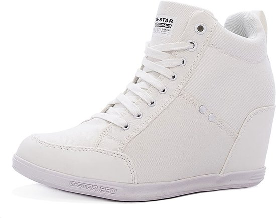 3a39afc2dfc G-Star Wedge Sneakers Model New Labour Wedge Kleur  Wit Maat  41