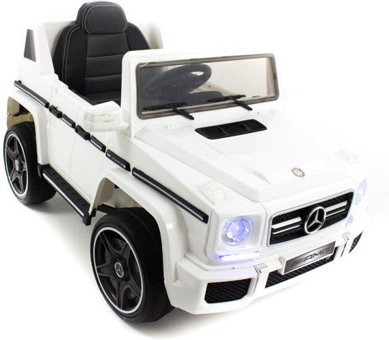 Bol Com Mercedes Kinderauto Amg G63 Cabrio Wit Mercedes Speelgoed