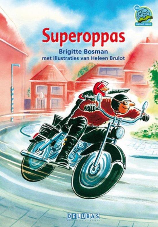 Boek cover Samenleesboeken - Superoppas van Brigitte Bosman (Hardcover)