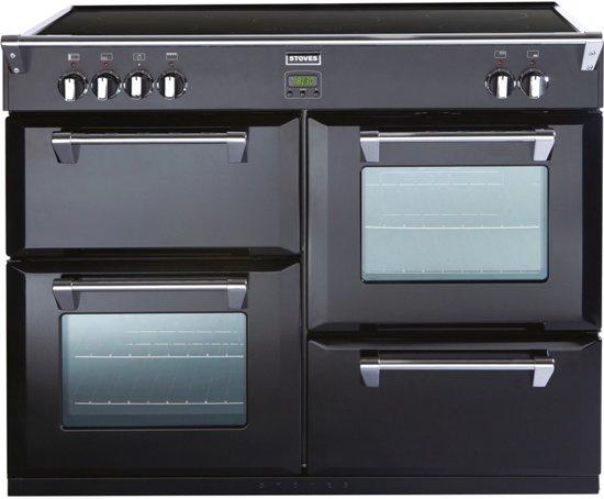 Fornuis Energieklasse A : Bol stoves richmond ei inductie fornuis oven zwart