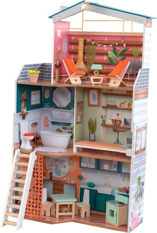 KidKraft Marlow houten poppenhuis met EZ-Kraft Assemly™