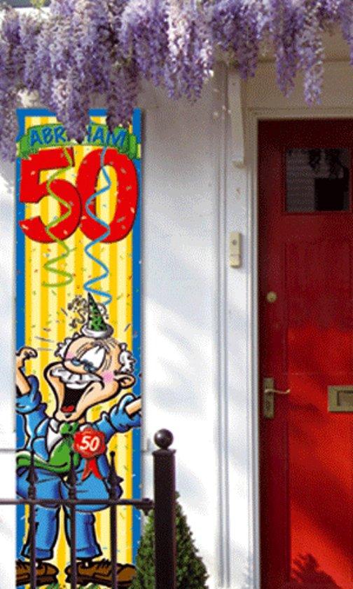 versiering 50 jaar abraham bol.| Abraham 50 jaar versiering banier, Folat | Speelgoed versiering 50 jaar abraham