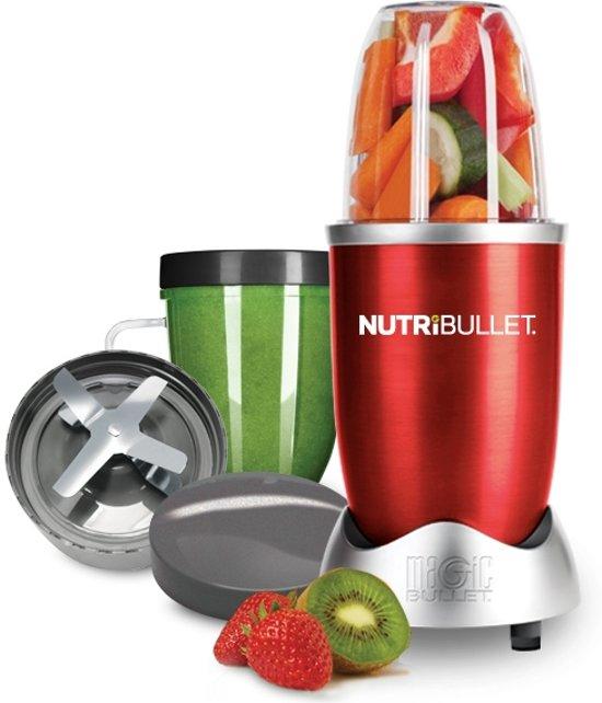 NutriBullet 600 Series - Blender - 8-delig - Rood