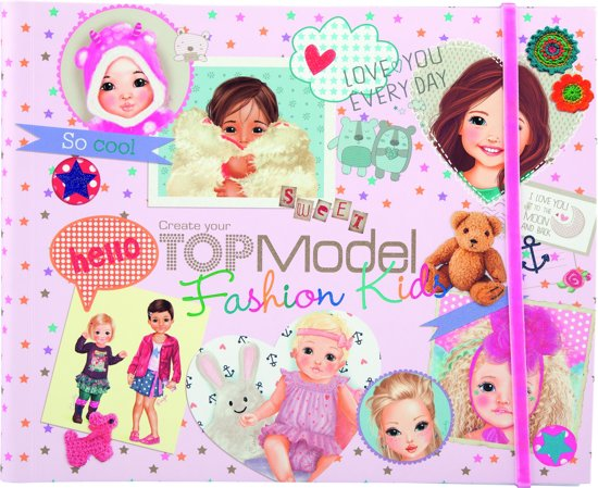 Create your Topmodel Fashion Kids  doeboek
