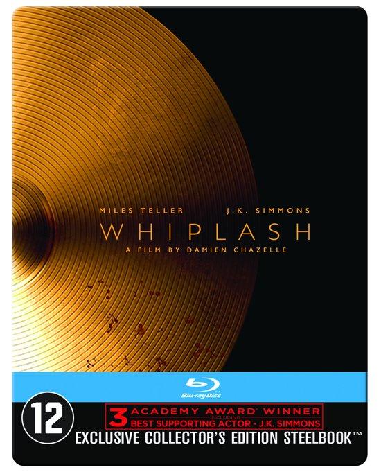 DVD cover van Whiplash (Blu-ray) (Steelbook)