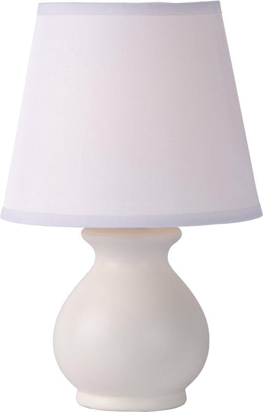 Lucide MIA - Tafellamp - Ø 17 cm - Wit