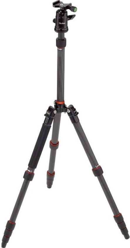 Rollei Compact Traveler No. 1 Carbon Digitaal/filmcamera Zwart tripod (max 8kg)