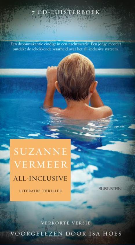 Boekomslag voor All-inclusive (luisterboek)