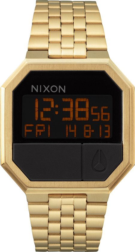 Nixon Re-Run All Gold horloge A158502