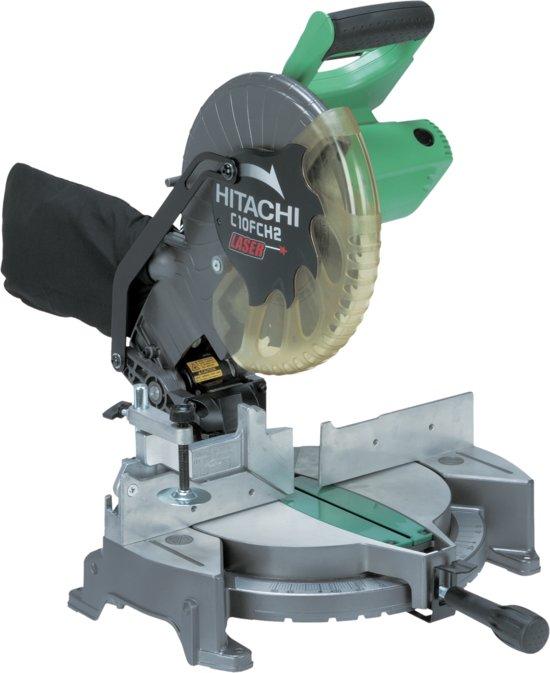 Hitachi C10FCH2(WAS) Afkort-verstekzaagmachine met standaard