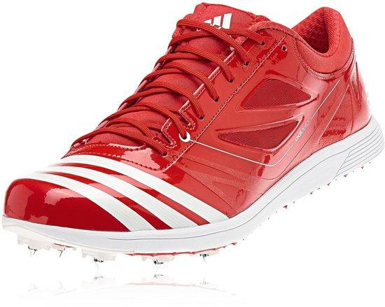 best sneakers c5e84 807b2 adidas adizero TJ 2 - Hardloopschoenen - Unisex - Maat 38 23 - Rood
