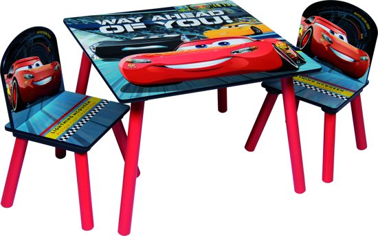 Kindertafel En Stoeltjes Cars.Bol Com Tafel En Stoeltjes Cars 3