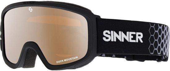 Sinner Duck Mountain Kinderen Skibril - Zwart