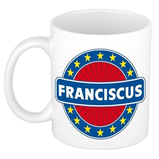 Franciscus naam koffie mok / beker 300 ml  - namen mokken