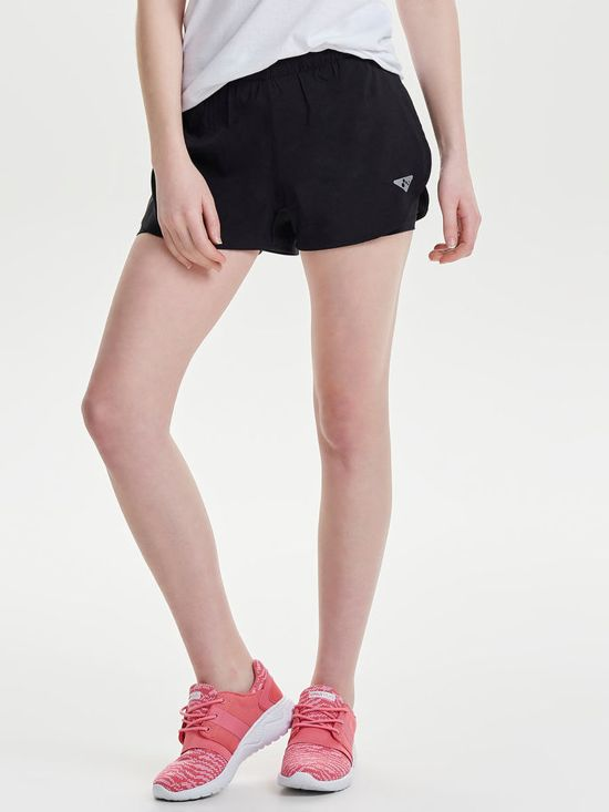 Only Play - Sofi Run Shorts - Hardloopbroekje - Dames - Zwart - Maat L