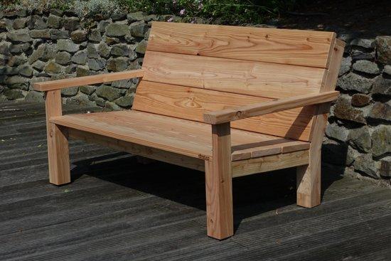Bol loungebank landelijk persoons douglas lariks houten