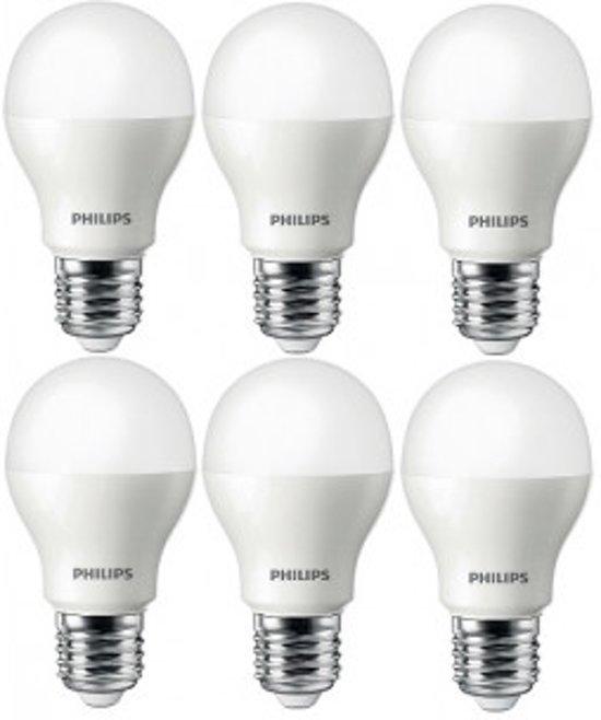 Philips CorePro LEDbulb 6.5-48W E27 6500K Daglicht (6 Stuks)