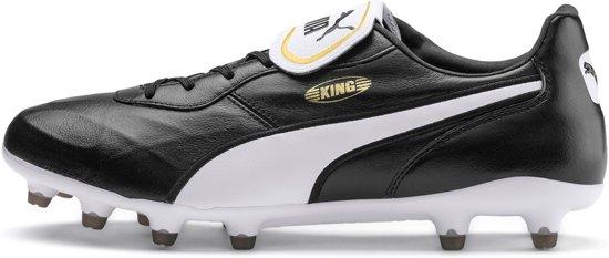 Puma King Top FG – BlackWhite