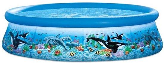 Intex Oceaan Zwembad Blauw