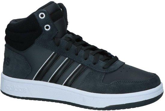 huge discount c6914 380bc adidas - Hoops 2.0 Mid - Sneaker hoog gekleed - Dames - Maat 41 - Grijs