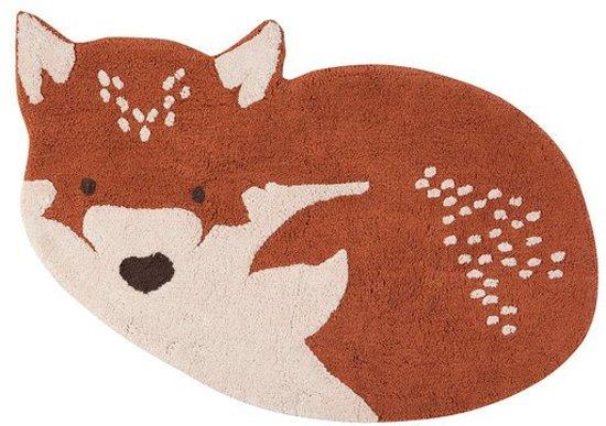 Rond Vloerkleed Kinderkamer : Bol vloerkleed kinderkamer babykamer little wolf