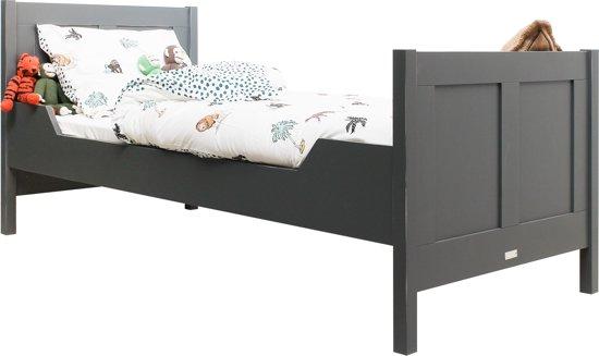 Bopita - Bed 90 x 200 cm - Recht - Country - Vintage Grey