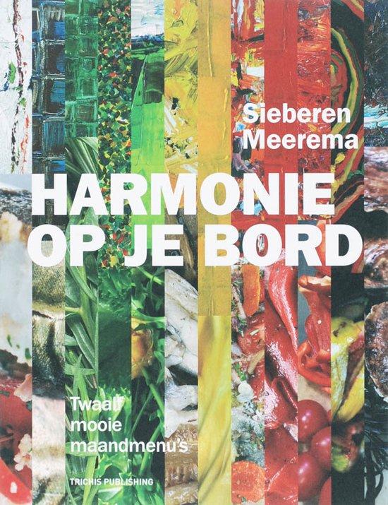 Cover van het boek 'Harmonie op je bord' van O.L. de Vos en S. Meerema