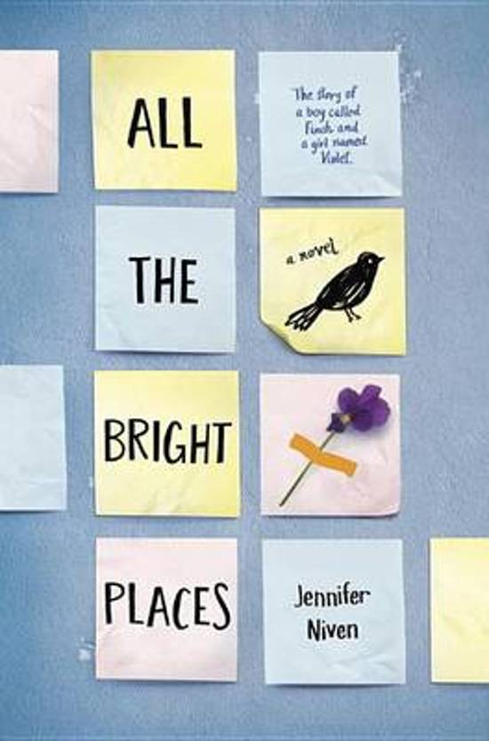 Boek cover All the Bright Places van Jennifer Niven (Hardcover)