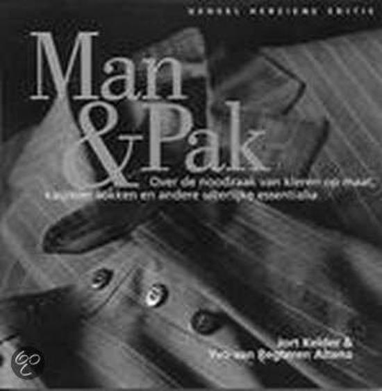 Cover van het boek 'Man & Pak' van Jort Kelder en Yvo van Regteren Altena
