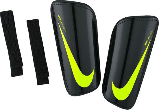 Nike Hard Shell Slip-In scheenbeschermers ScheenbeschermerVolwassenen - zwart/geel Maat M