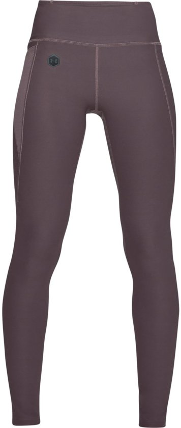 Under Armour Rush Sportlegging Dames - Ash Taupe - Maat M