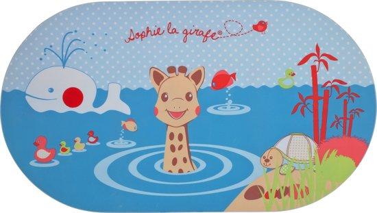 Sophie de Giraf - Badmat met temperatuurindicator