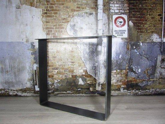 Industrieel Tafel Onderstel : Bol.com handgemaakt industrieel tafelonderstel strip poot zwaar