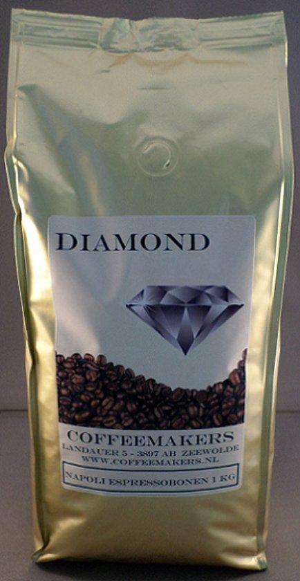 Diamond espressobonen Napoli, 1000 gram