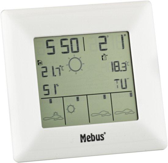 Mebus 40215 draadl. weerstation