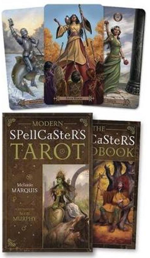 Boek cover Modern Spellcasters Tarot van Melanie Marquis (Other binding) & Een boekentip: Modern Spellcasters Tarot door Melanie Marquis pezcame.com