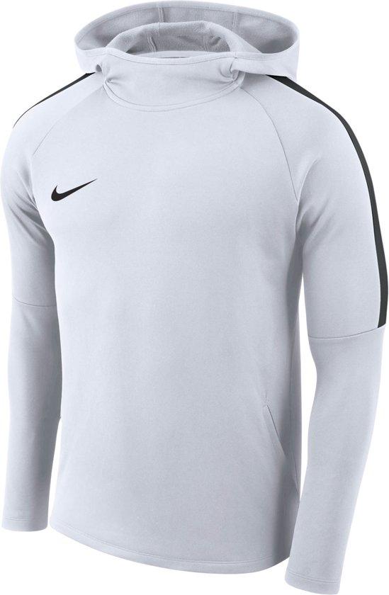 Nike Dry Academy Football  Sporttrui performance - Maat S  - Mannen - wit - zwart