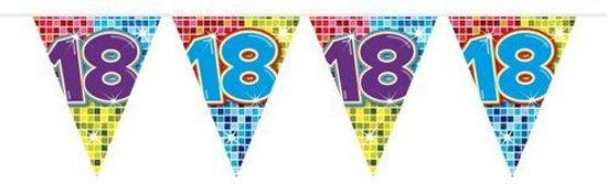 slingers 18 jaar bol.| Slingers 18 Jaar Versiering 6 meter, Prohap | Speelgoed slingers 18 jaar