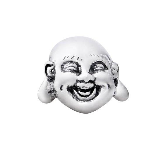 Quiges Bedel Bead - 925 Zilver - Lachende Boeddha Kraal - Z317