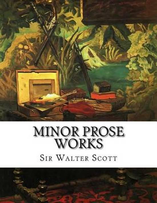 Minor Prose Works