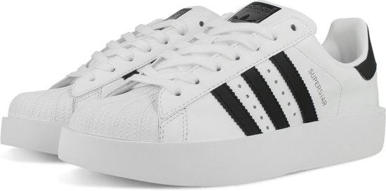 adidas superstar wit en zwart